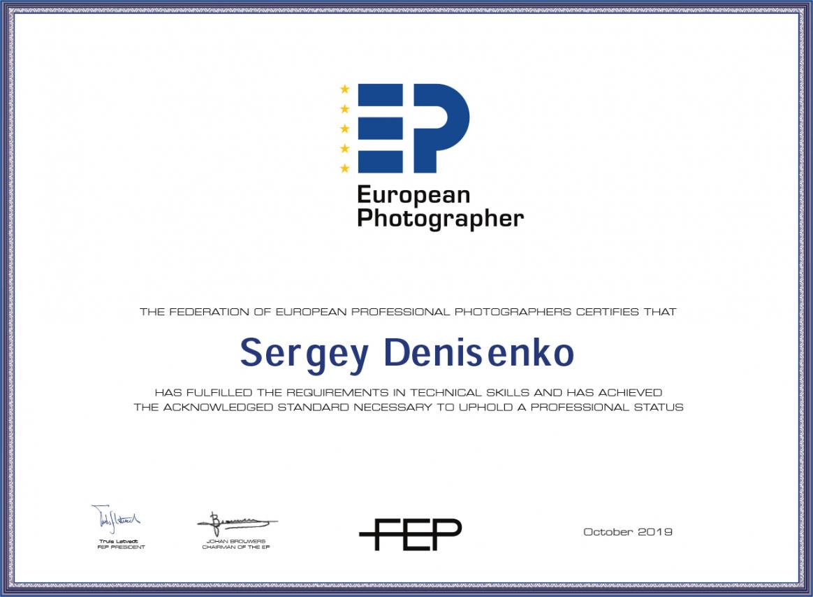 FEP_EP_certificate_Sergey Denisenko.png