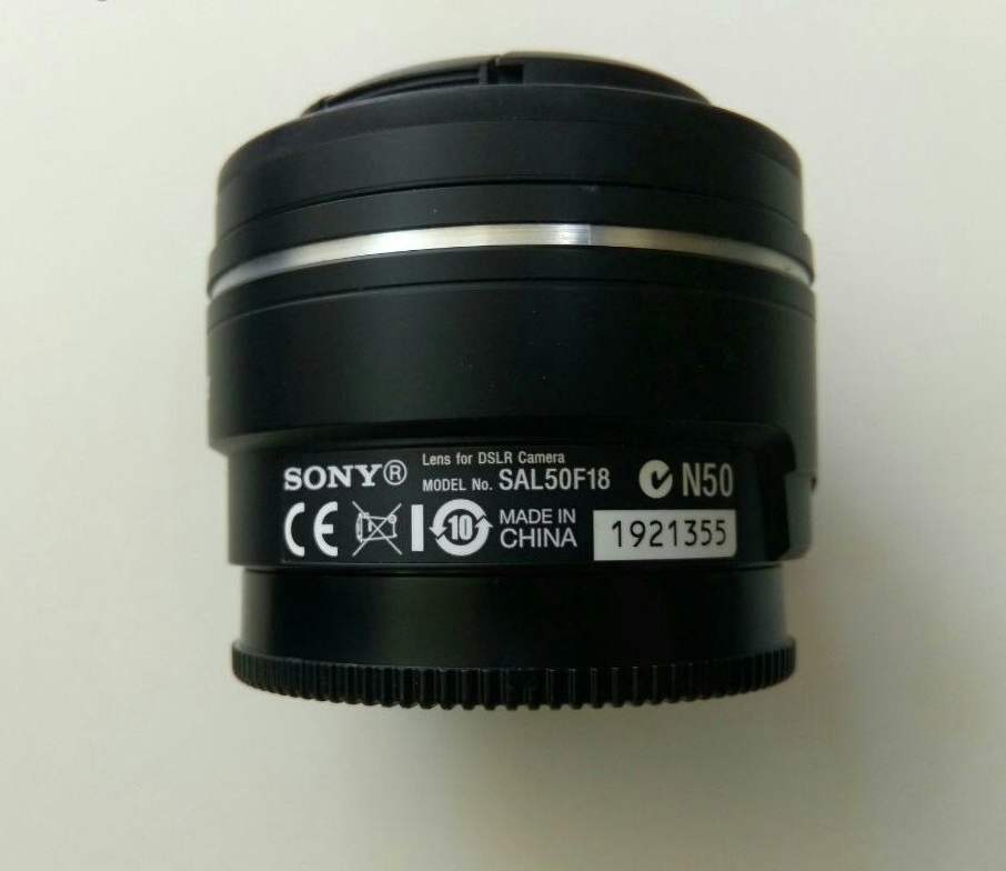 Sony sal 50mm F1.8