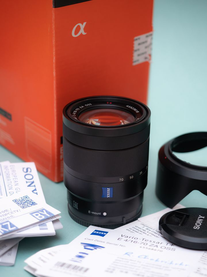 Sony Carl Zeiss 16-70mm f/4 ZA OSS SEL-1670Z