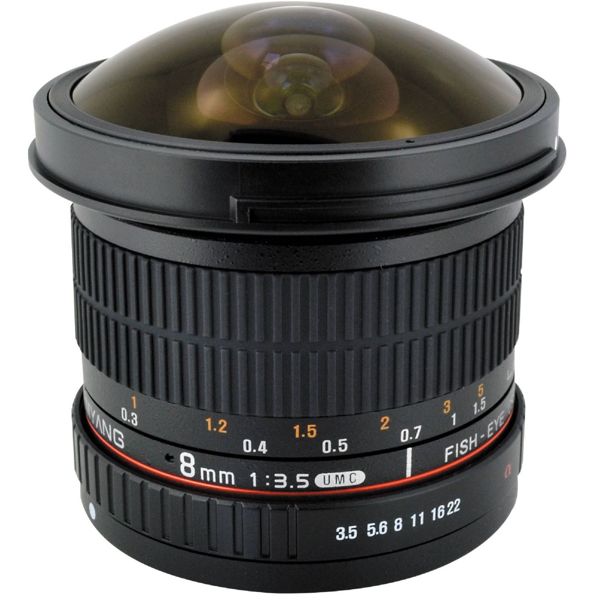 Samyang 8mm F3.5 UMC Fisheye CS II