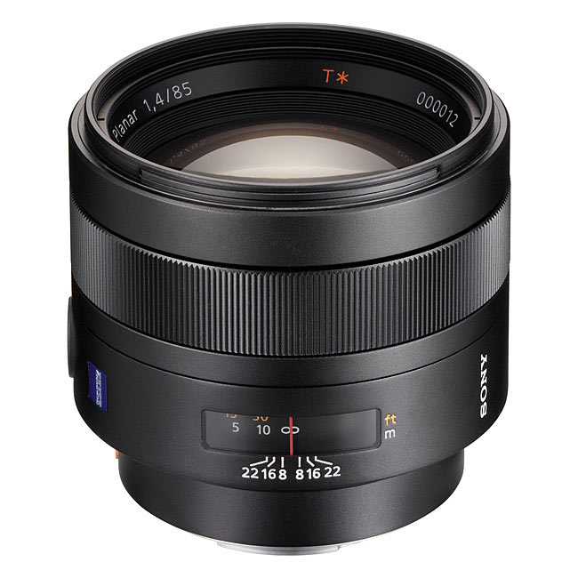 Sony Carl Zeiss 85mm F1.4 ZA Planar T*